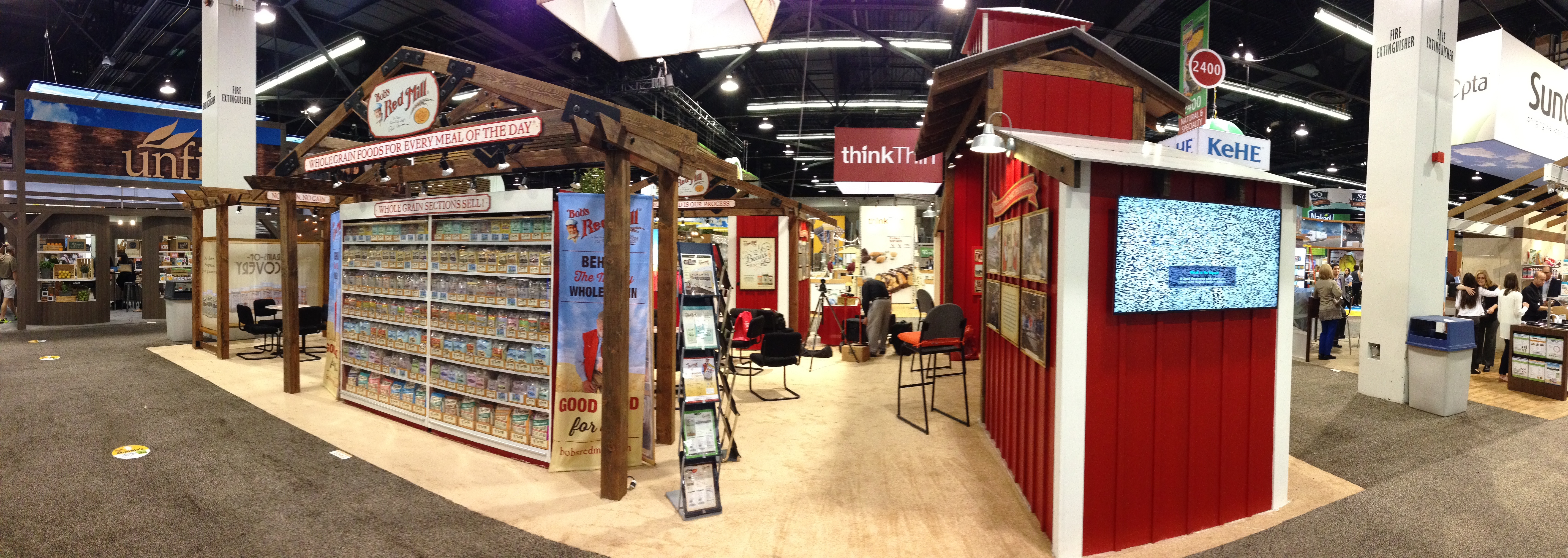Bob's Red Mill at Expo West 2015
